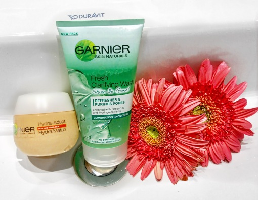 GARNIER Fresh Clarifying Wash Shine Be Gone ( combination to oily skin)