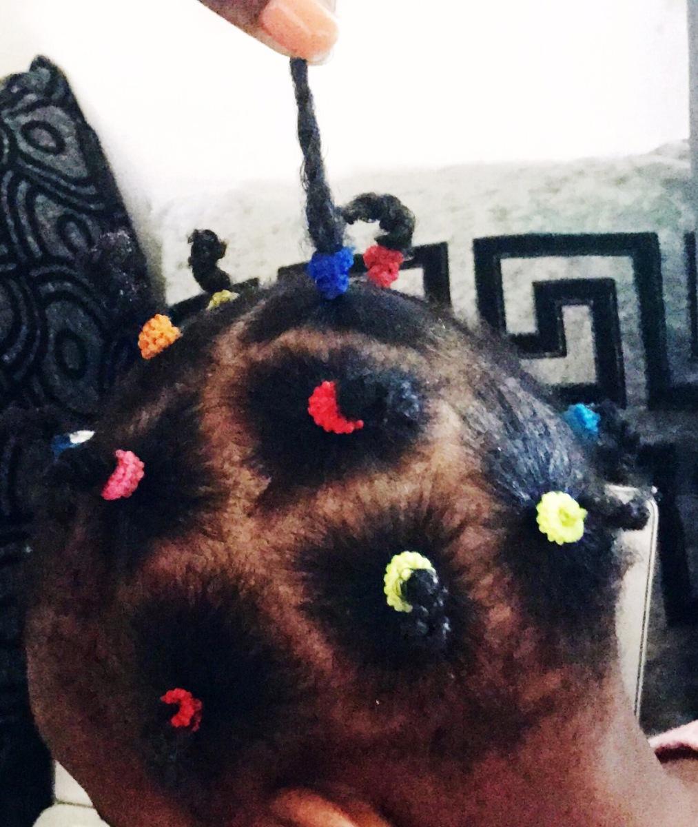 Cuidando do cabelo da Thandy